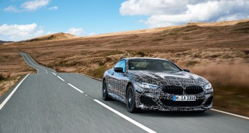 The S-Class Coupe finally gets a rival. The BMW 8 Series Coupe enters final development stage