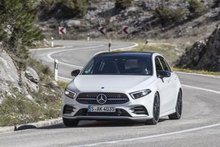 Mercedes A-Class test drive Split Croatia 2018 55