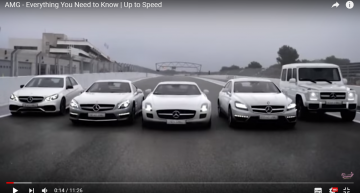 Mercedes-AMG history in 11 minutes