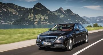Mercedes-EQ S electric sedan hits the road in 2020