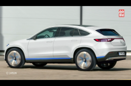Mercedes EQ E: EQ GLE based SUV coming in 2022
