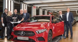 The production of the new Mercedes-Benz A-Class starts in Germany