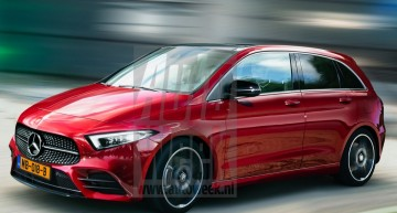 Back to the future: 2019 Mercedes B-Class reveals all its secrets