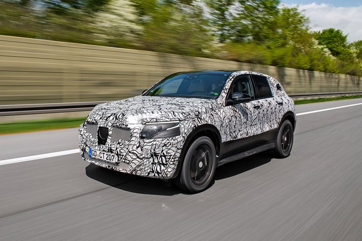 2019 Mercedes EQC test: First driving report of the new electric SUV