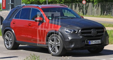 2019 Mercedes GLE revealed in clearest spy pictures yet