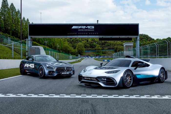 There is a name for such fun –  AMG Speedway opens in South Korea