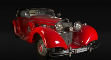Mercedes-Benz 540K Cabriolet A turns heads at Concours d'Elegance