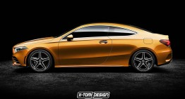 Mercedes-Benz A-Class Coupe looks great in digital render
