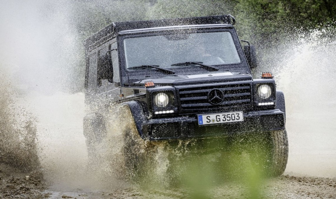 Original Mercedes-Benz G-Class lives on in Professional guise