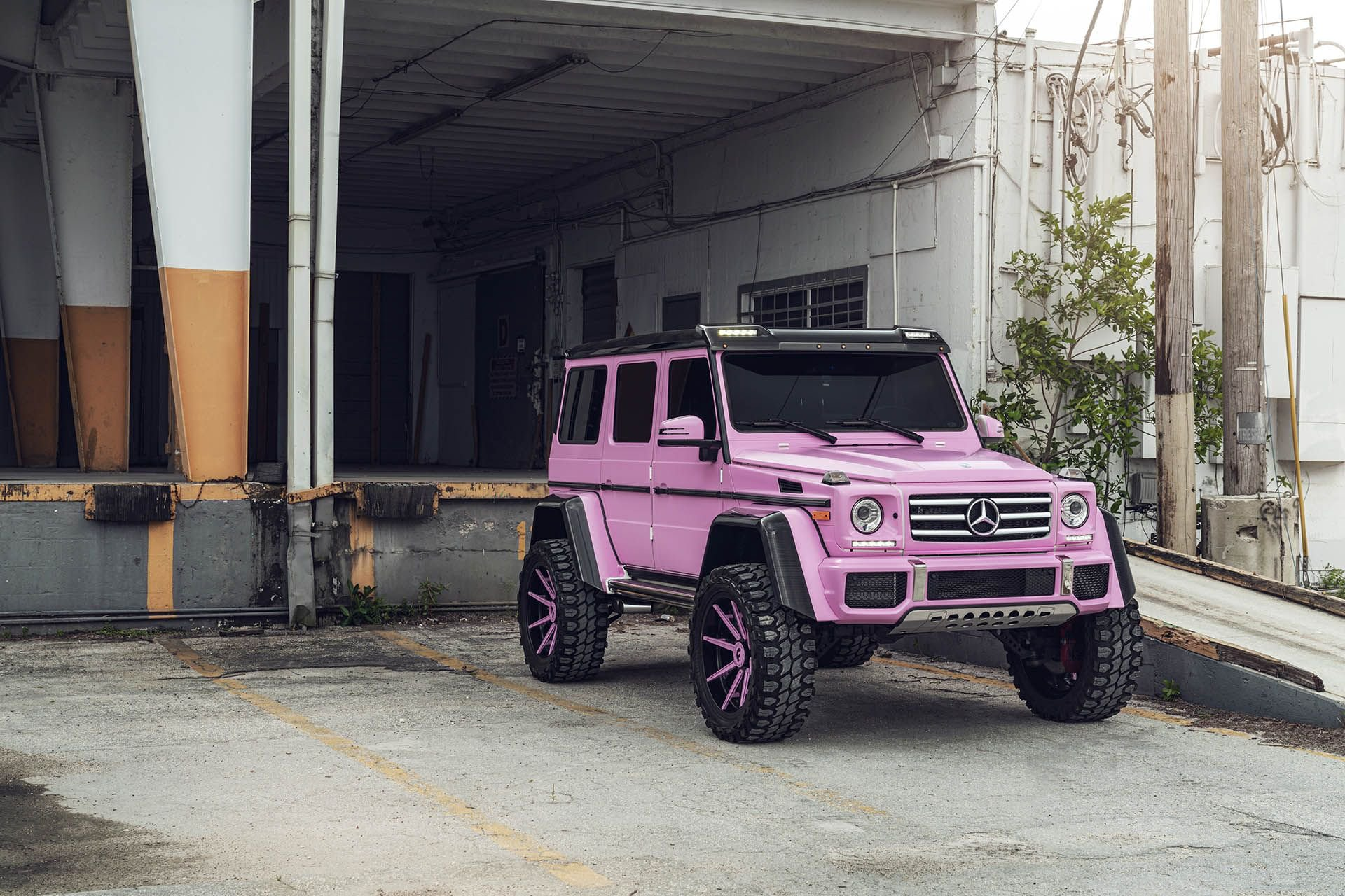 Oh No Barbie What Have You Done To The Mercedes Benz G500 4 4 Mercedesblog