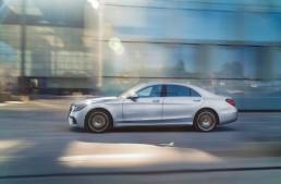 Record unit sales in April for Mercedes-Benz