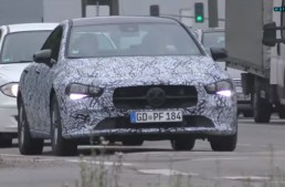 2019 Mercedes CLA: New compact four door coupe revealed in spy video
