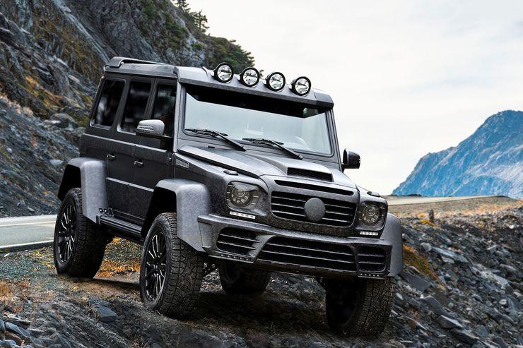 Mansory Gronos Black Desert test: Mercedes G 500 4X4² extreme makeover