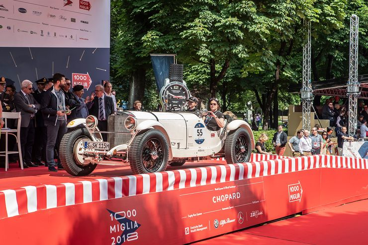 MILLE MIGLIA 2018: Carraciola hommage with Mercedes-Benz SSK in Italy
