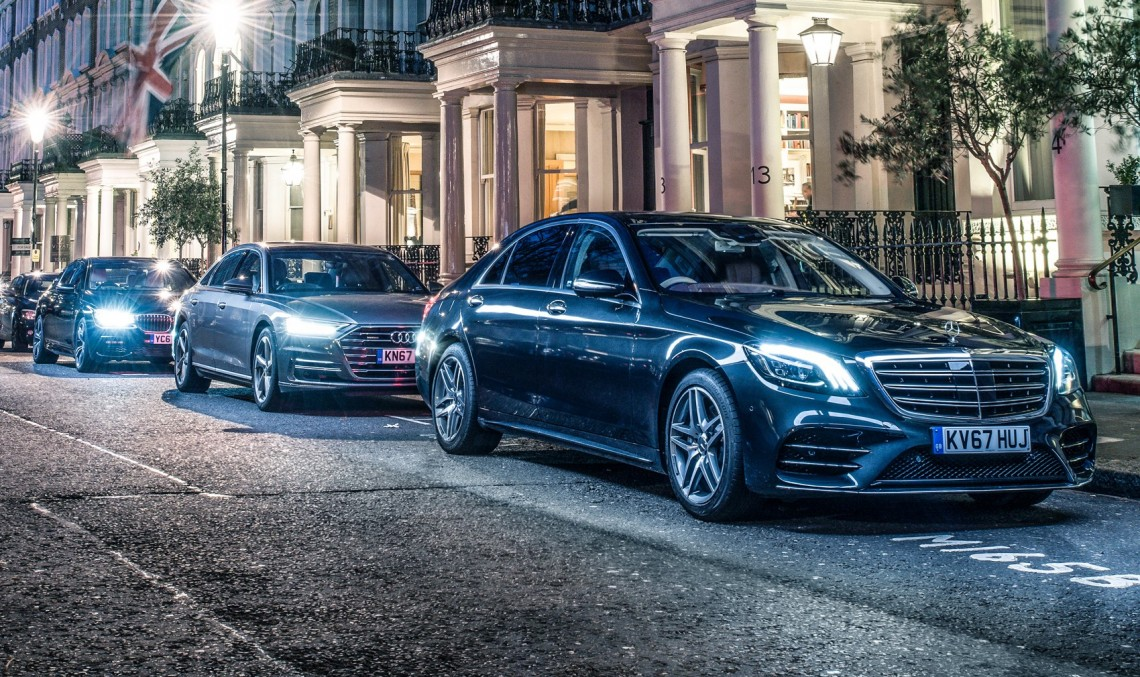 Diesel luxury limos super test: Mercedes S-class vs Audi A8 vs BMW 7-series