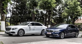 Mercedes and BMW establish joint mobility company