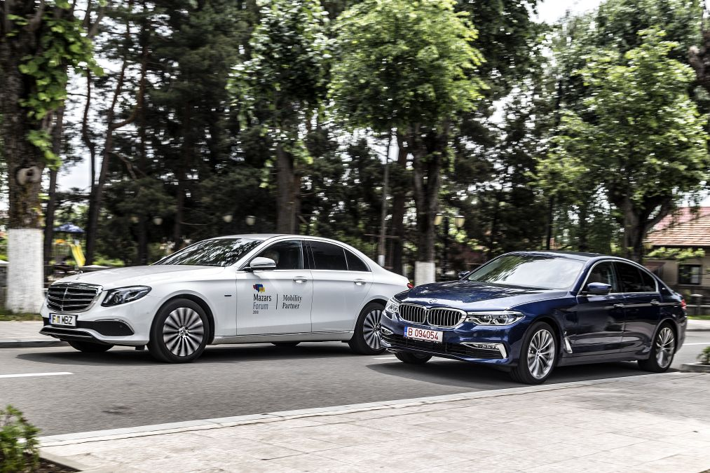 Exclusive: comparison test Mercedes E 350 e vs BMW 530e