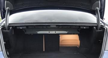 BMW 530e  410 liter boot