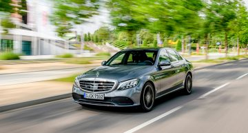 Prices for the Mercedes-Benz C 300 de plug-in hybrid announced