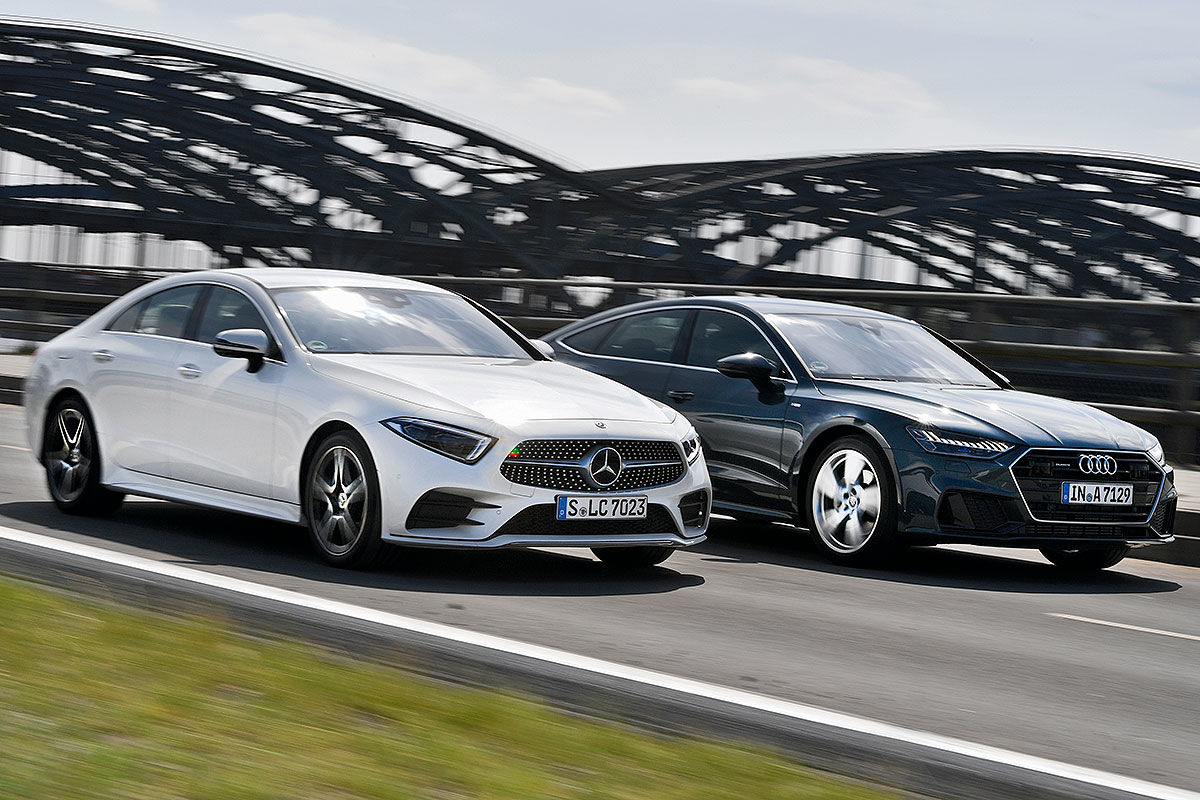 2019 Mercedes Cls Versus Audi A7 Sportback The Most Beautiful Duel