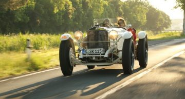 Mercedes-Benz Classic iconic cars to the Silvretta Classic Rally Montafon 2018