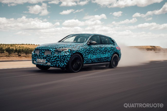 Mercedes EQ C set to debut soon