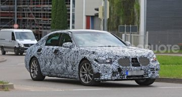 Next-gen Mercedes-Benz S-Class spied