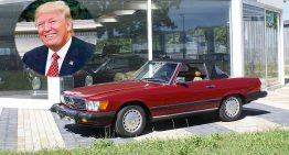 The cars of Donald Trump: US President's threats and his Mercedes fleet