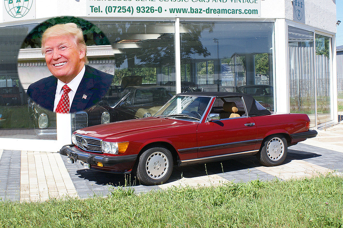The Cars Of Donald Trump Us President S Threats And His
