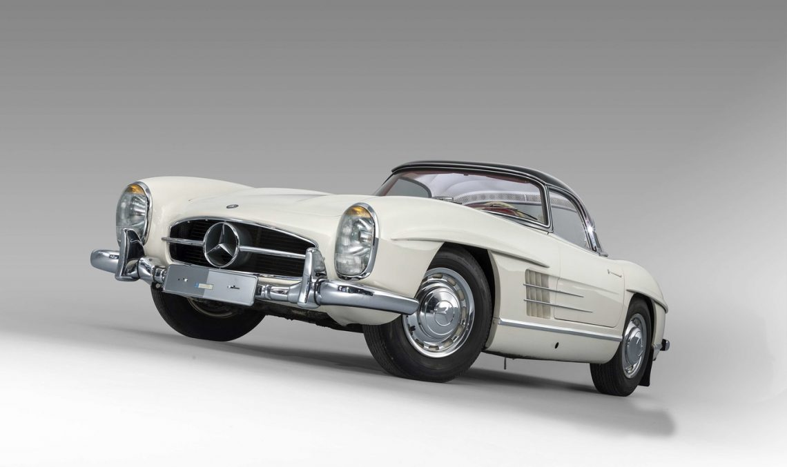 Mercedes-Benz 300SL Roadster is sold for $3.7 millions