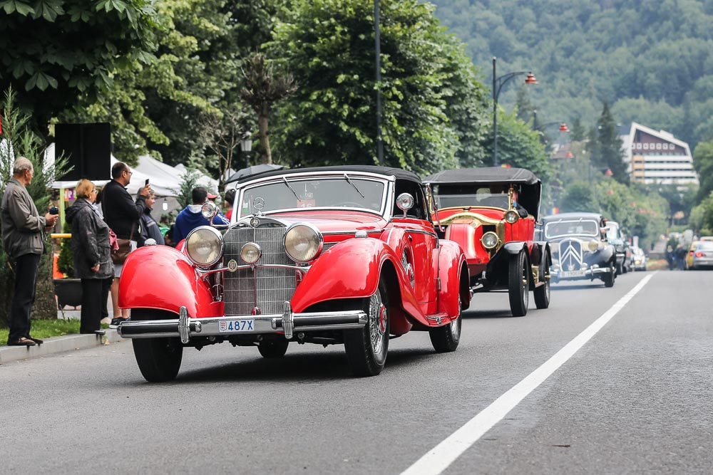 "Mercedes-Benz 540 K Cabriolet A is ""Best in Show"" at the Concours d'Elegance in Romania"