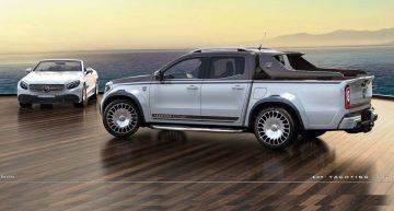 Mercedes-Benz X-Class gets the Maybach treatment via Carlex Design