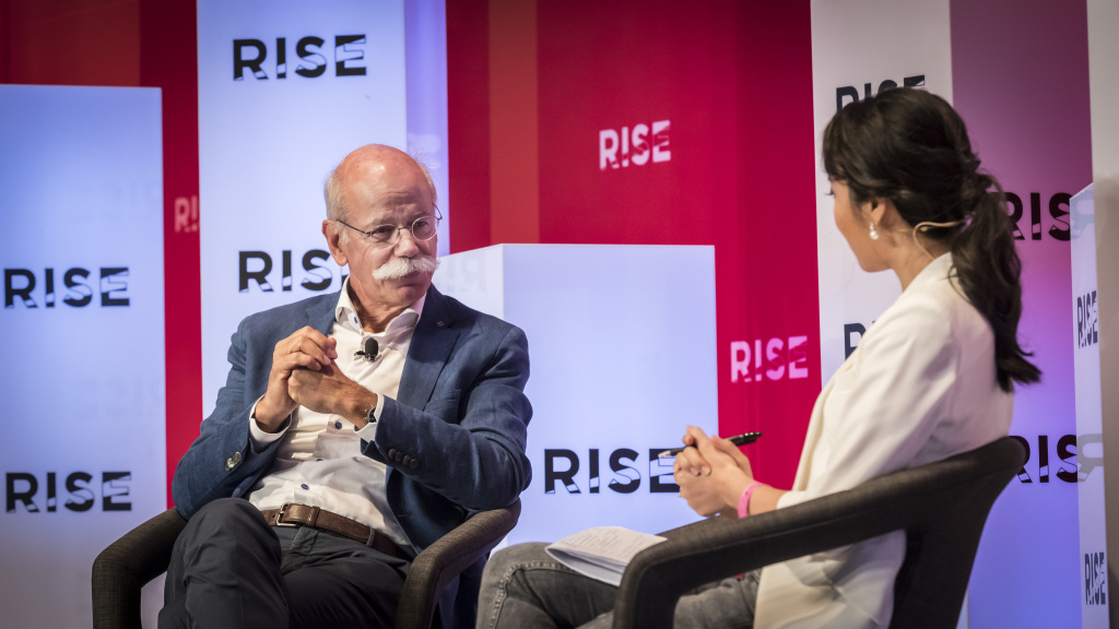 VIDEO: Dieter Zetsche interview on artificial intelligence, autonomous driving
