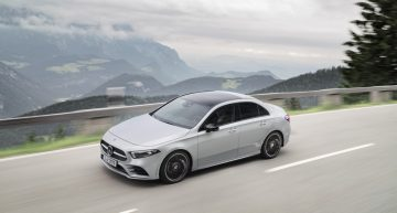 Brothers, not rivals. The new Mercedes-Benz A-Class Sedan to be sold alongside the CLA