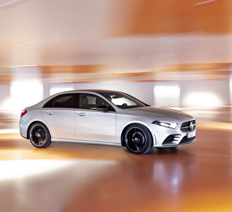 This is the first video ever of the Mercedes-Benz A-Class Sedan
