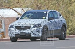 Mercedes-Benz EQC loses more camo, shows conventional grille