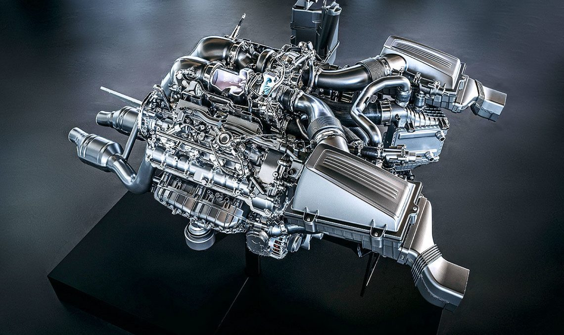 Mercedes-AMG V8 Biturbo 4.0 (2018): The technology behind AMG's four-liter V8