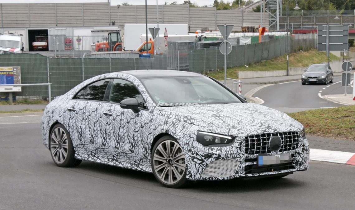 400 Hp Four Door Coupe 2019 Mercedes Amg Cla 45 Caught For The