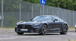 2020 Mercedes-AMG GT facelift, captured for the first time [SPY PICS]