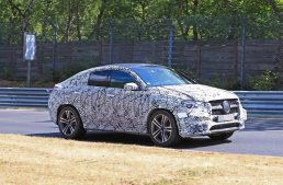 Scoop: 2020 Mercedes-Benz GLE Coupe tested on the Nürburgring-Nordschleife