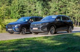 Comparative test: Mercedes GLE 350 d 4Matic vs VW Touareg