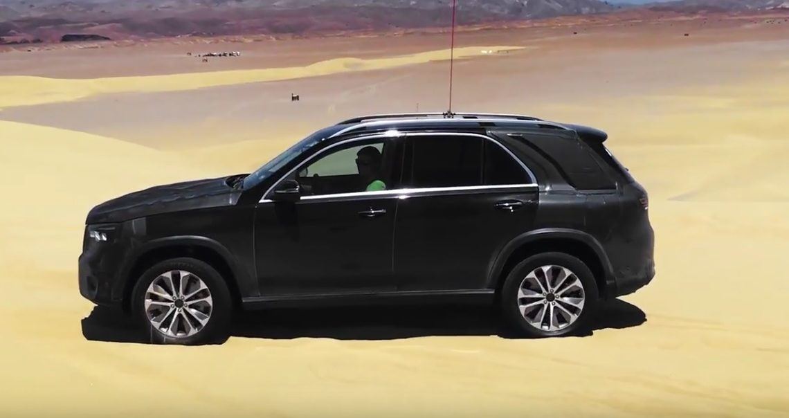 2019 Mercedes-Benz GLE 450 is showing off – This is how the new suspension works