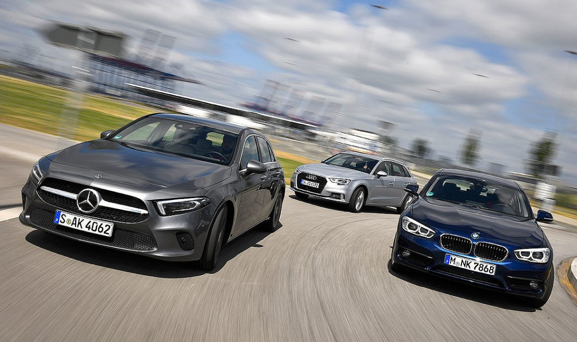 Premium sales: Mercedes-Benz still ahead of BMW and Audi, amidst consistent declines