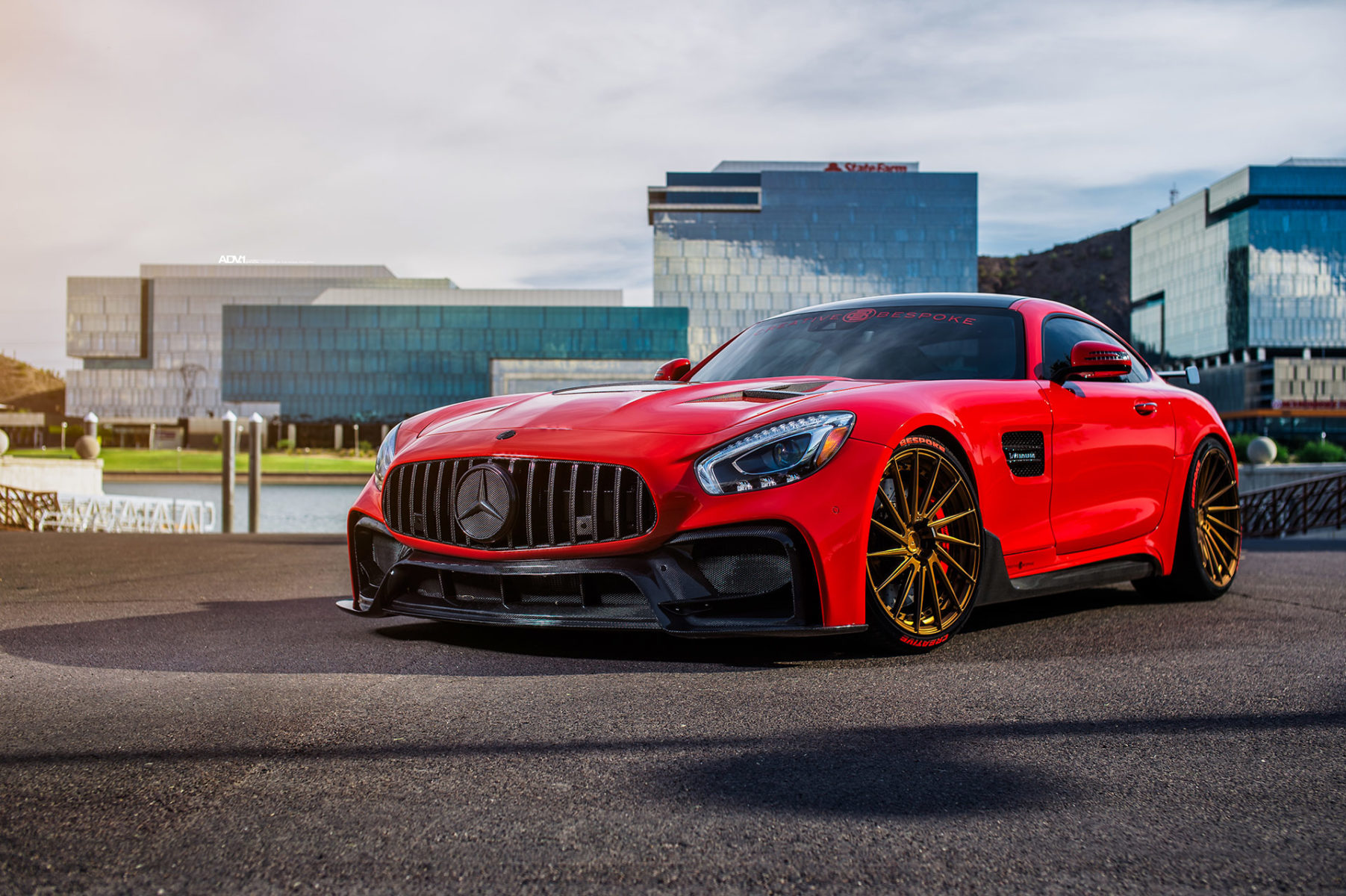 mercedes amg gt s is red with tuning fury and glory. Black Bedroom Furniture Sets. Home Design Ideas
