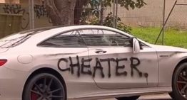 When you own a Mercedes-AMG S63 Coupe and you cheat on your girlfriend
