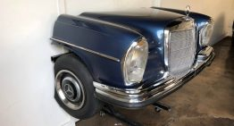 That disco vibe – A Mercedes-Benz 220SE Jukebox for sale