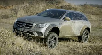 Thoroughbred off-roader – Mercedes-Benz E-Class All-Terrain 4×4² goes off the beaten track