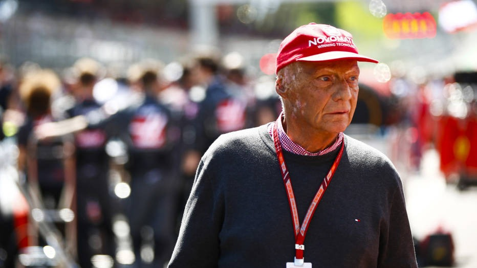 Mercedes-AMG Petronas Motorsport chairman Niki Lauda underwent lung transplant