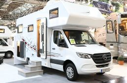 Caravan Salon 2018: New motor homes based on the Mercedes-Benz Sprinter