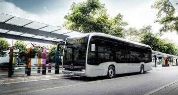 Electric bus: Mercedes-Benz shows the production version of the eCitaro